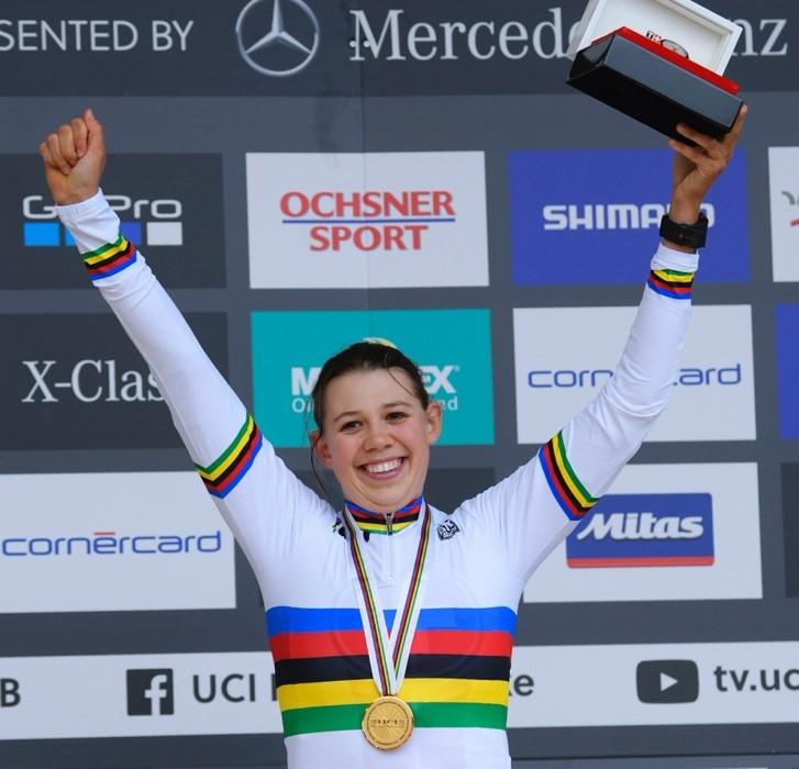 Alessandra Keller ist Weltmeisterin.